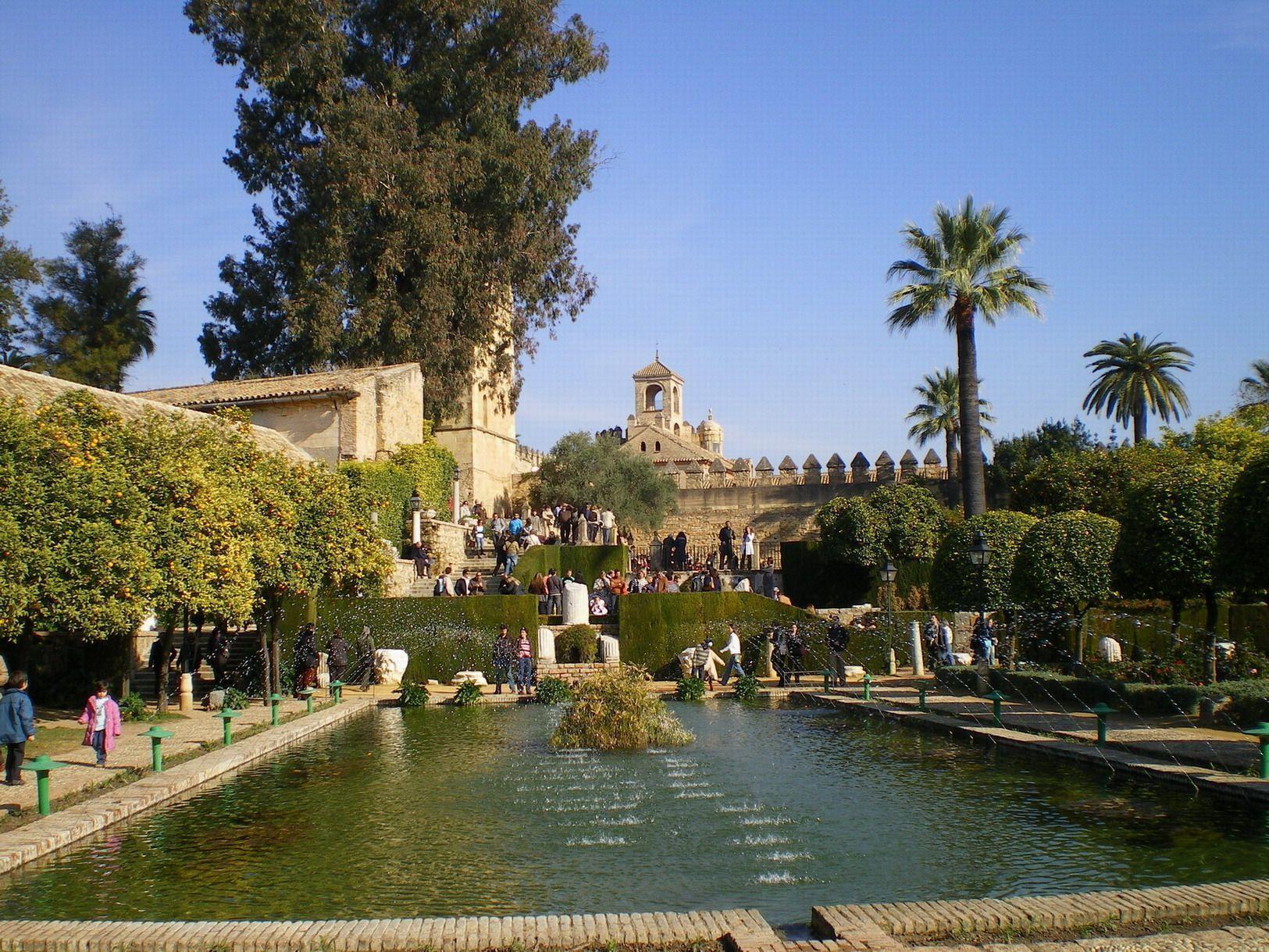 Les jardins de l 39 alcazar de cordoba for Les jardins de